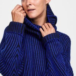 Zara Oversized Knit Turtleneck Sweater